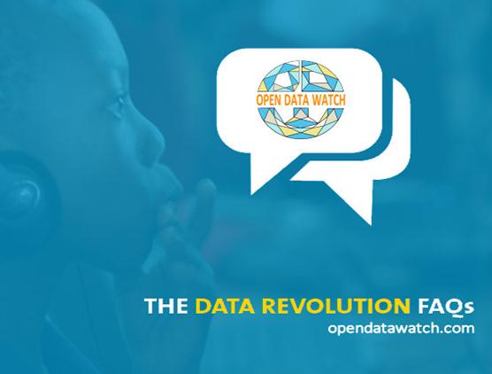 Data Revolution FAQ - por Open Data Watch