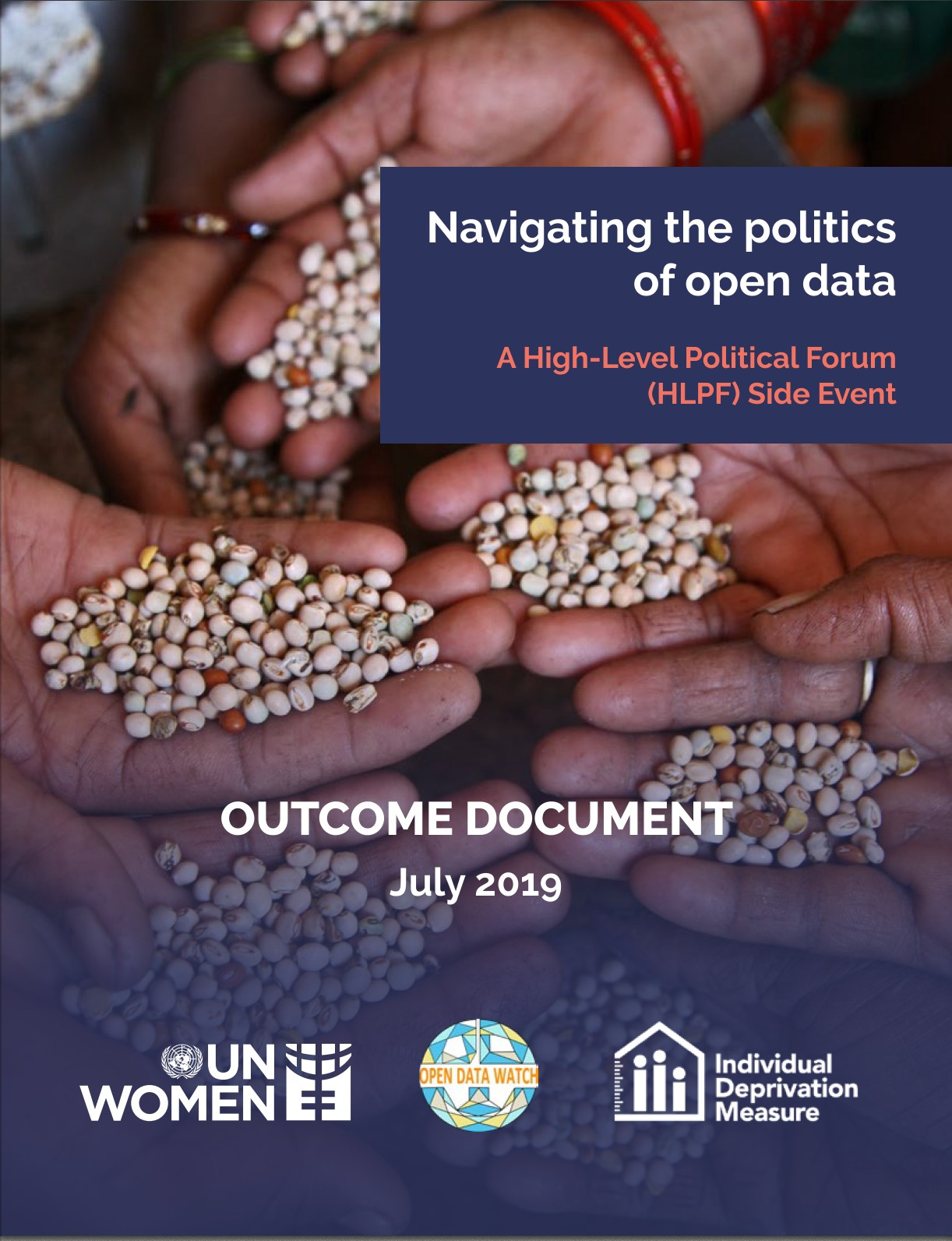Navigating the politics of open data - Outcome Document - A High-Level Political Forum (HLPF) Side Event